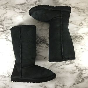 Ugg Black Classic Tall 5229 Boots